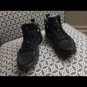 Air Jordan 12 Retro Black/University Blue Size 12